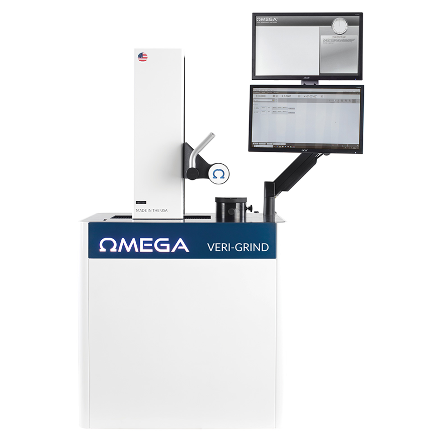verigrind presetter and tool measuring machine by omega tmm |