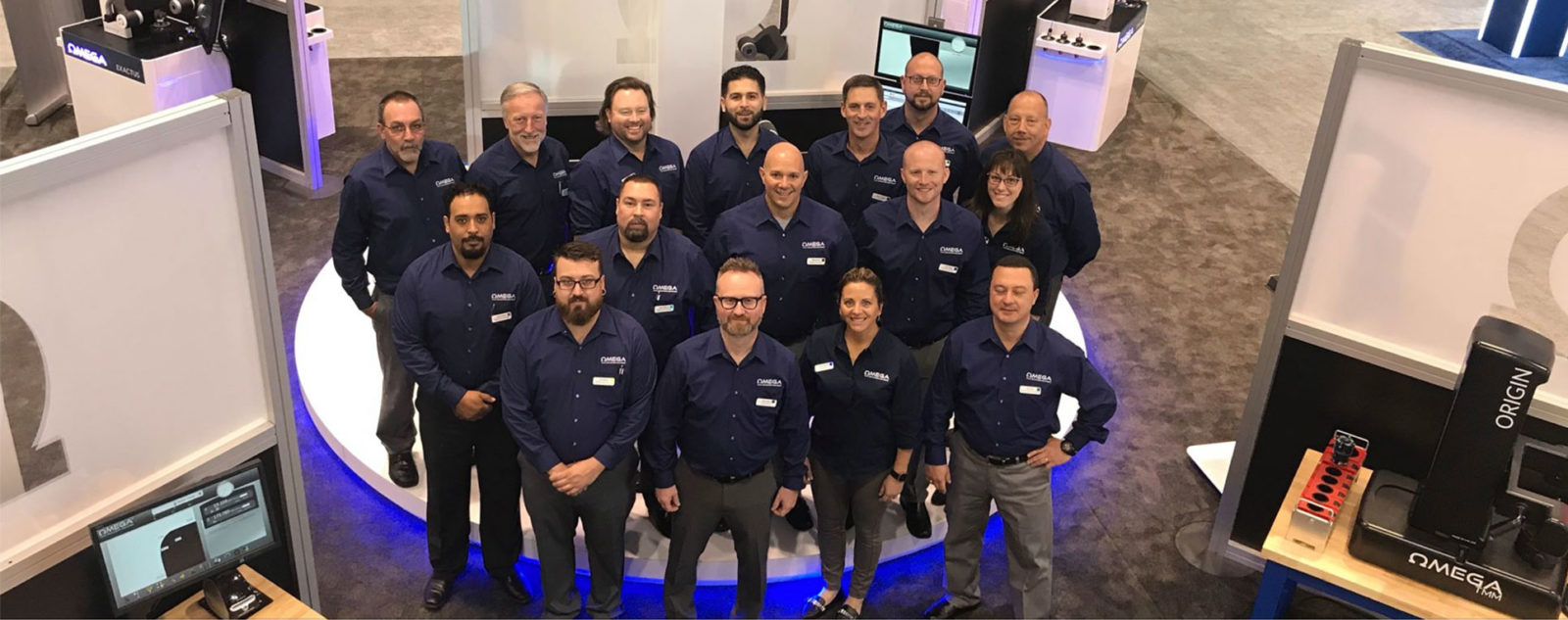 Omega TMM Team at IMTS 2019