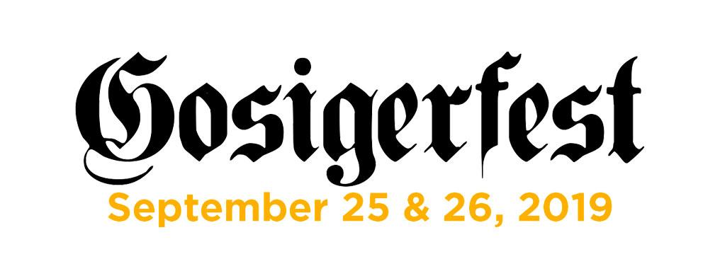 Gosigerfest Logo September 2019