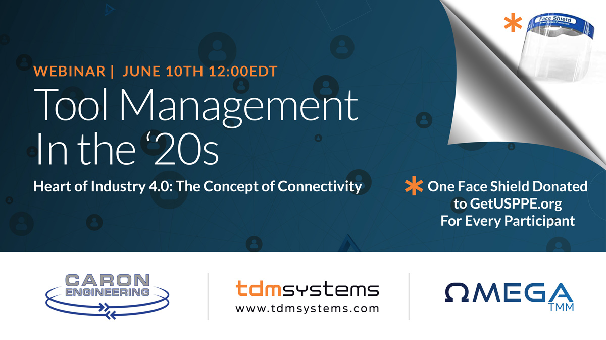 Tool Management In the '20s Webinar by Omega Tool Measuring Machines + Partners