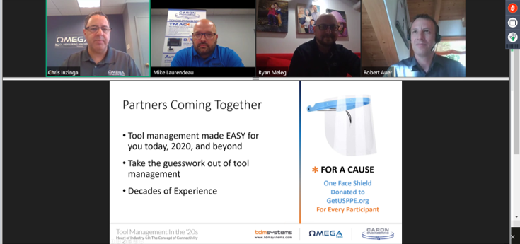 Omega TMM Featured in Partners Webinar for Tooling Precision and Management